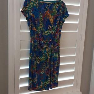 Ellen Tracy multi color dress